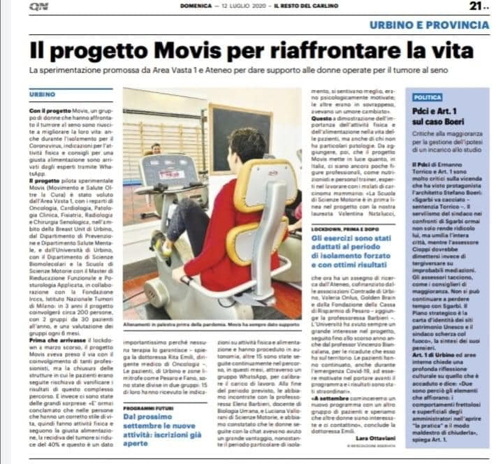 MoviS oggi in prima pagina ♥️🐘